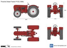 Porsche Diesel Tractor P133