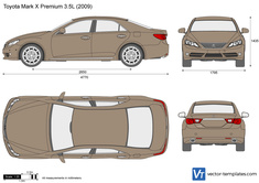 Toyota Mark X Premium 3.5L