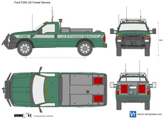 Ford F250 US Forest Service