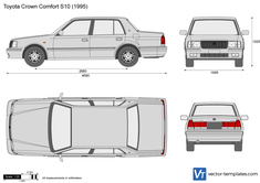 Toyota Crown Comfort S10