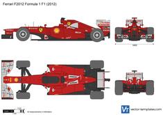 Ferrari F2012 Formula 1 F1
