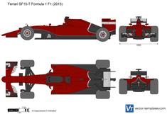 Ferrari SF15-T Formula 1 F1