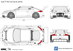 Audi TT RS VLN Typ 8J