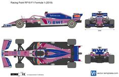 Racing Point RP19 F1 Formula 1