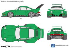 Porsche 911 RWB 993 Evo