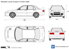 Mitsubishi Lancer Evolution III CE9A