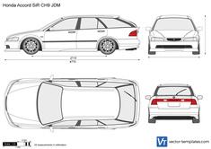 Honda Accord SiR CH9 JDM