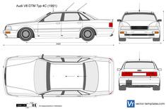 Audi V8 DTM Typ 4C