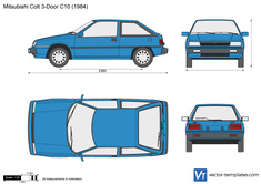 Mitsubishi Colt 3-Door C10