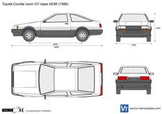 Toyota Corolla Levin GT-Apex AE86