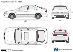 Nissan Primera GT P11