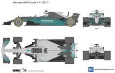 Mercedes W08 Formula 1 F1