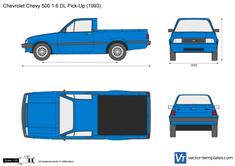 Chevrolet 500 1.6 DL Pick-Up