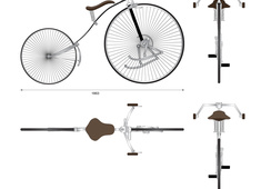 Geared Facile bicycle