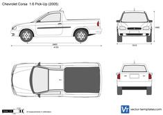 Chevrolet Corsa  1.6 Pick-Up
