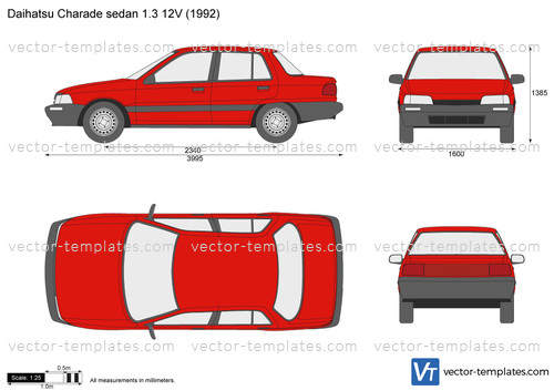 Daihatsu Charade sedan 1.3 12V