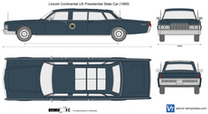 Lincoln Continental US Presidential State Car