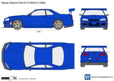 Nissan Skyline R34 GT-R SMS-R