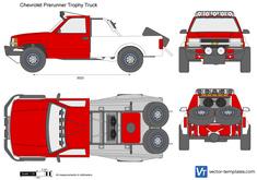 Chevrolet Prerunner Trophy Truck