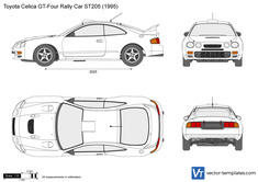 Toyota Celica GT-Four Rally Car ST205