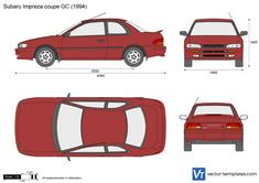 Subaru Impreza coupe GC