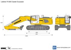 Liebherr R 936 Crawler Excavator