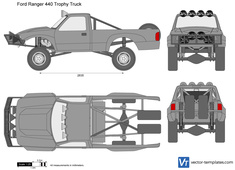 Ford Ranger 440 Trophy Truck