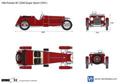 Alfa Romeo 8C 2300 Super Sport