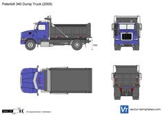 Peterbilt 340 Dump Truck