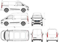 Ford Transit Custom Van L1H2