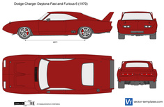 Dodge Charger Daytona Fast and Furious 6