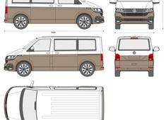 Volkswagen Transporter T6.1 Bulli