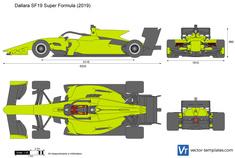 Dallara SF19 Super Formula