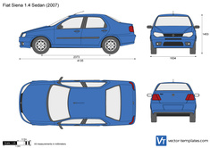 Fiat Siena 1.4 Sedan