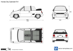 Honda City Cabriolet FA1