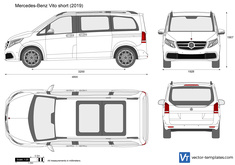 Mercedes-Benz Vito short
