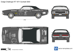 Dodge Challenger RT Gumball 3000