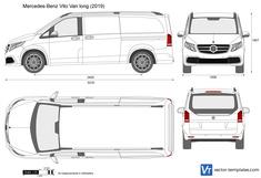 Mercedes-Benz Vito Van long