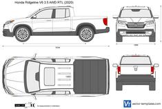 Honda Ridgeline V6 3.5 AWD RTL