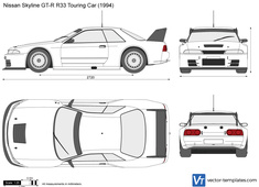 Nissan Skyline GT-R R33 Touring Car