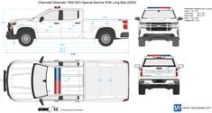 Chevrolet Silverado 1500 SSV Special Service 5W4 Long Bed