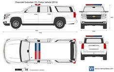Chevrolet Suburban 1FL Police Vehicle