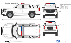 Chevrolet Tahoe 4x4 Special Service 5W4