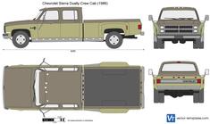 Chevrolet C/K Dually Crew Cab