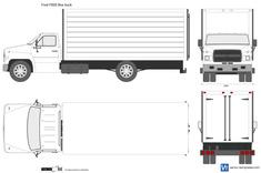 Ford F600 Box truck