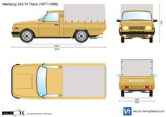 Wartburg 353 W Trans