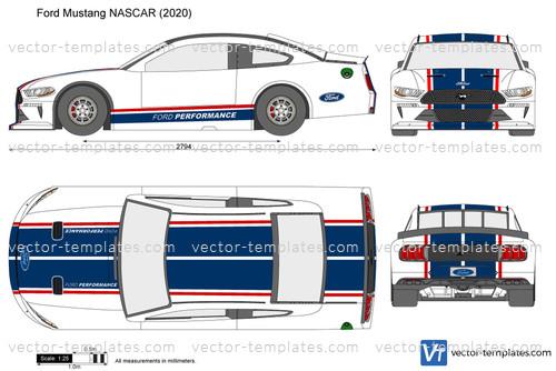 Ford Mustang NASCAR
