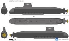 JMSDF JS SOURYU SS-501