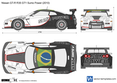 Nissan GT-R R35 GT1 Sumo Power