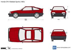Honda CR-X Ballade Sports